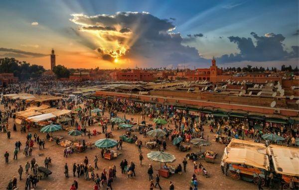 Marrakech, todos los caminos llevan a Jemma el Fna